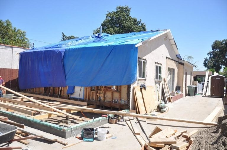 Burbank California - Exterior House Remodel and addition 1