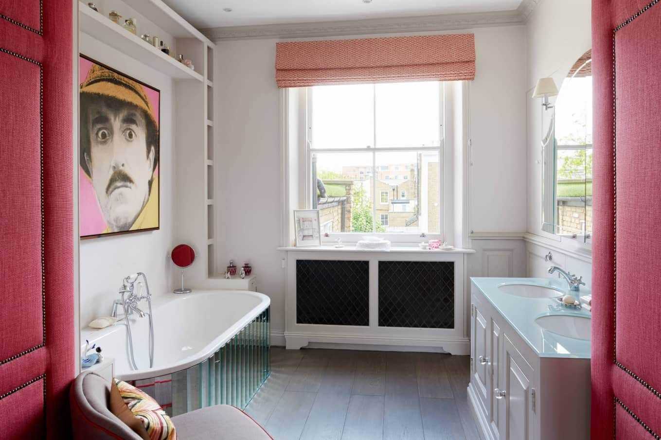 Eclectic Bathroom Style