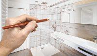 Drawing a Bathroom design