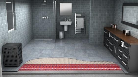 Heates Floors for bathroom