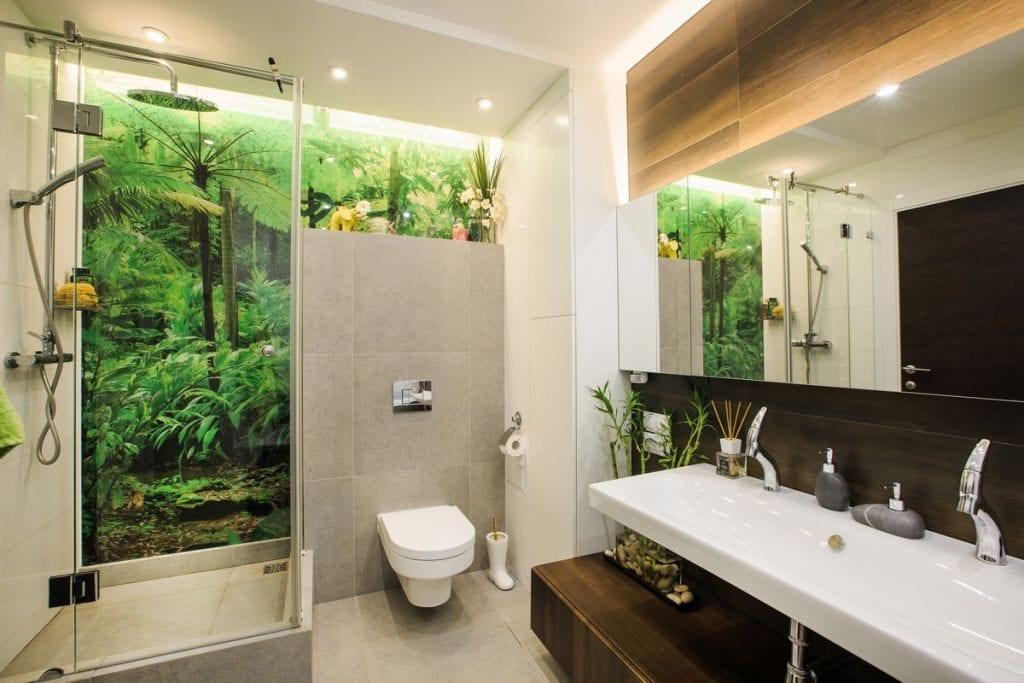Tropical Bathroom Style