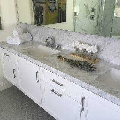 New bathroom countertop