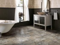 vinyl bathroom floors